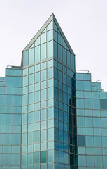 Blue Glass Building in Halifax
