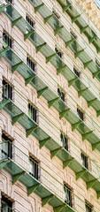 Green Iron Balconies