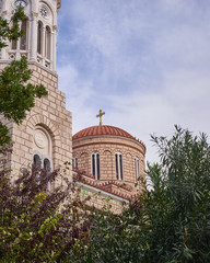 Athens, Greece, Chrysospiliotisa church in Aeolou street