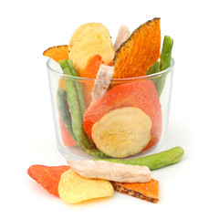 Chips de légumes - Vegetables chips
