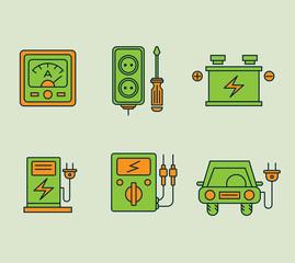 Ecological Icons Set