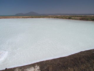 Danakil,afrera lake,Ethiopia