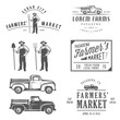 Vintage farming labels, badges and design elements - 80511913