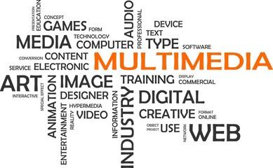 word cloud - multimedia