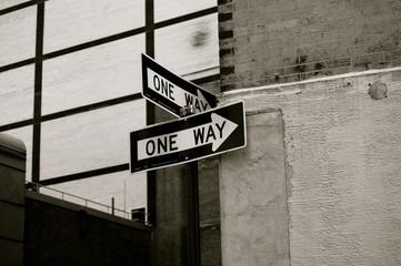 Señal One Way