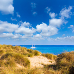 Majorca Cala Mesquida beach in Mallorca Balearic
