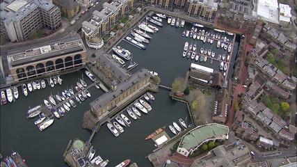 St Katherine's Dock London Central Dining Location