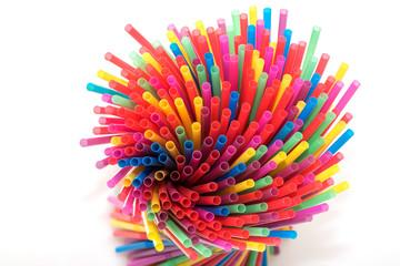 Pailles multicolore