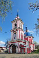 The Church of the intercession, Pereslavl Zalessky city