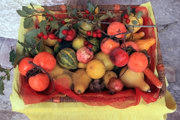 Frutta e verdura, esposizione