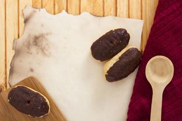 Pastry - mini eclairs
