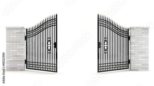 Open gate - 80522984