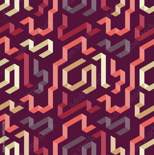 Tapeta Color geometric shape pattern