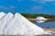 Leinwandbild Motiv Mallorca Ses Salines Es Trenc Estrenc saltworks