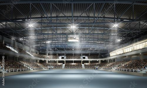 Foto op Aluminium Stadion Mehrzweckhalle 1