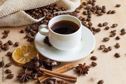 Obraz na Plexi coffee
