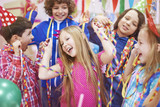 Dancing with friends at the birthday party - 80529169