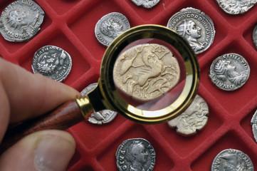 collection monnaies antiques