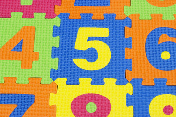 numbers textures
