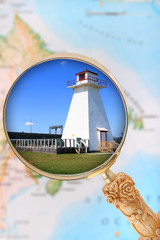 Maritime Provinces lighthouse