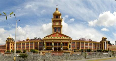 Spanish Colonial Catholic Christian Church in Cuenca, Ecuador