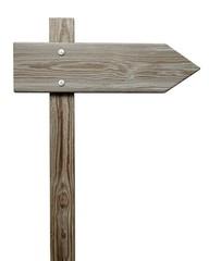 Wood. 3D. Old wooden sign