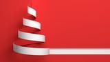 Christmas. 3D. White Christmas - 80533914