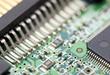 Leinwandbild Motiv electronic circuit