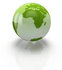 Globe. 3D. Planet earth design