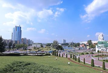 Square Nyamiha in Minsk