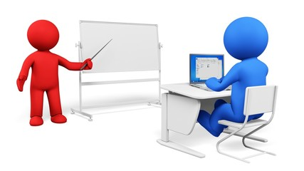 Training. 3D. Computer study