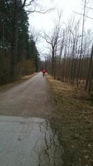 Biker wald