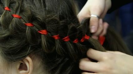 Braided hair braids