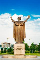 Monument to Francisk Skarina in Minsk