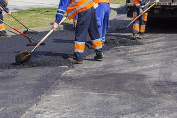 Asphalting and Repair of roads