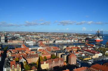 Copenhagen from the top