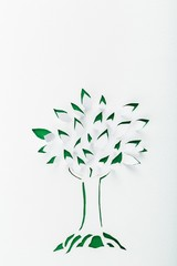Origami. Origami tree