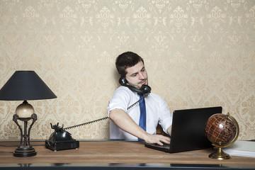 businessman of special tasks