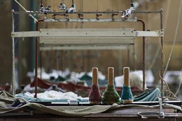 Industria tessile abbandonata