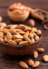Bowl of almond