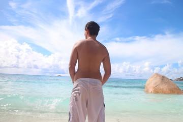 Urlaub geht ins Meer