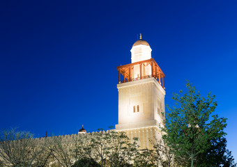 King Hussein Bin Talal mosque in Amman, Jordan
