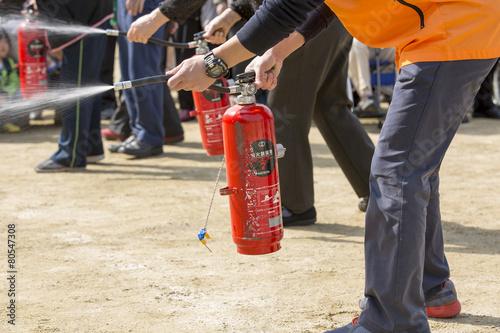 消火訓練 - 80547308