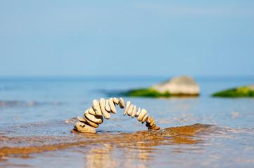 Bending pebbles