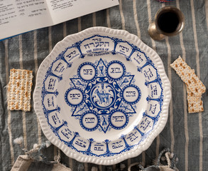 Traditional Passover Plate