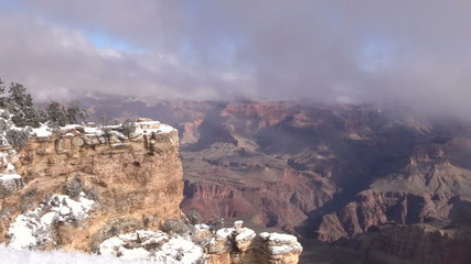 Winter Landscape Grand Canyon National Park