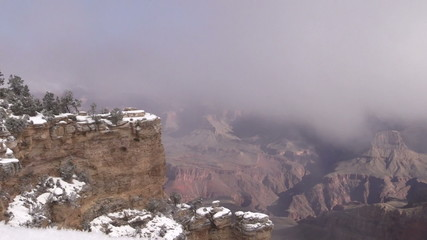 Grand Canyon National Park Winter Landscape