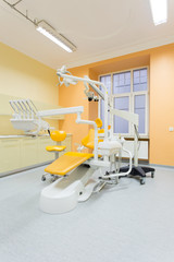 View of stomatologist's office