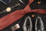 Fototapety Men accessories