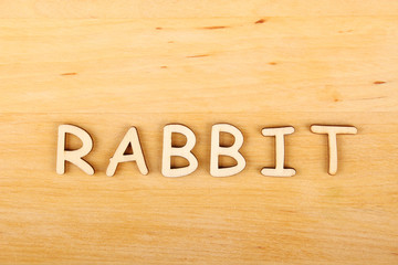 Rabbit text